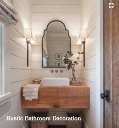 43 Amazing Small Farmhouse Bathroom Design - Double sinks bathroom vanities can be fixed to suit many interior styles adding texture and grace for a complete bathroom look. There are a variety of. Decor Interior Design, Interior Decorating, Decorating Ideas, Decorating Bathrooms, Decorating Websites, Design Websites, Bronze Gold, Decoration Ikea, Suites