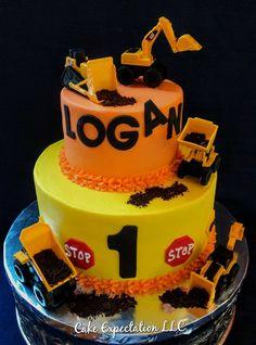53 ideas birthday cake boys tractor dump trucks for 2019 1st Birthday Boy Themes, Truck Birthday Cakes, Make Birthday Cake, Birthday Cake Decorating, First Birthday Cakes, Boy Birthday Parties, Birthday Party Decorations, 4th Birthday, Birthday Ideas