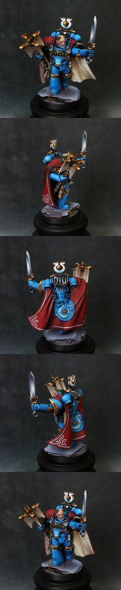 Ultramarine hero from Betrayal at Calth