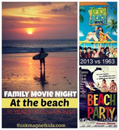 Family Movie Night: Compare and contrast 2 beach movies that are 50 years apart!