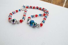 Womens Christmas Holiday Necklace Set for by Willows3Creations