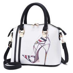 da80eb660 Ladies New Fashion Printed Diagonal Shoulder Bag Bolsas De Couro, Feminino,  Mulheres, Moda