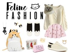 """""""Feline Fashion"""" by christinaisabelle ❤ liked on Polyvore featuring Chicwish, Keds, Paul & Joe, Michael Kors, Forever 21, Oh K!, STELLA McCARTNEY and Even"""