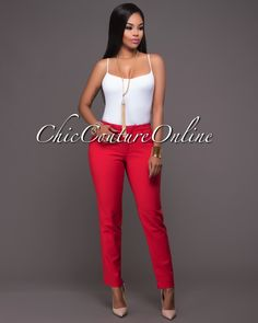 Chic Couture Online - Sade Red Low Rise Dress Pants.(http://www.chiccoutureonline.com/sade-red-low-rise-dress-pants/)