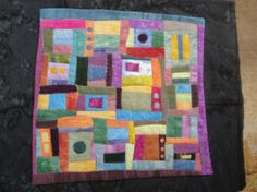 Quilted Art A New Thing Hand Dyed Fabric by juliebagamary on Etsy, $350.00