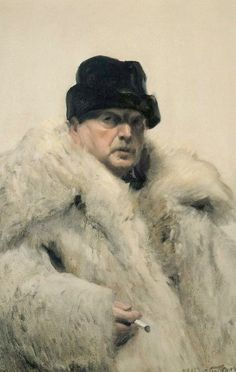Anders Zorn (Swedish, 1860-1920), Self-portrait in...