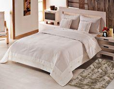 REDUCERE -25% pentru Cuvertură de pat dublu Valentini Bianco YT042 Ecru, Bumbac 100%, 250×250 cm. Preț nou: 317,25 lei (Economisești: 105,75 lei).
