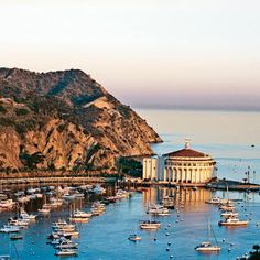 Residents find small-town life and a sense of permanent vacation on California's Santa Catalina Island.