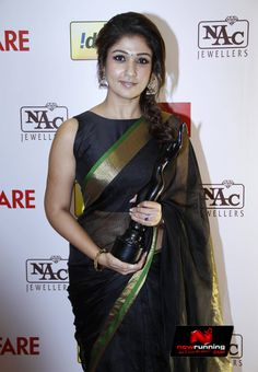 Nayantara at 61st Idea Filmfare South Awards 2013