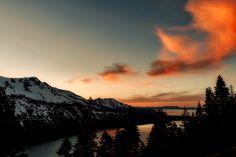 Montanhas, Paisagem, Reino Unido, Nuvens, Pôr Do Sol