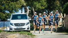 Mercedes-Benz is supporting Team Sport For Good by providing the new V-Class. The versatile van acts as a mobile service centre and transporter at contests and training sessions.