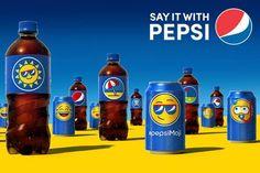 """A partir de este verano las latas y las botellas estarán invadidas por los """"Pepsimojis"""", unos emojis especiales diseñados por la compañía de bebidas"""