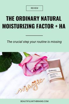 Are you so focused on anti-aging you forget to hydrate your skin? If your skicnare routine is too high in anti-agers and too low in moisturising agents, you may need to up my hydration game. Is The Ordinary Natural Moisturizing Factor   HA just the thing? Click pin to find out #hydration #dryskin The Ordinary Serum, The Ordinary Skincare, The Ordinary Natural Moisturising Factors, Antioxidant Serum, Moisturizer For Dry Skin, Sensitive Skin, Your Skin, Anti Aging, How To Find Out