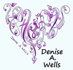 Mom heart tattoo design by Denise A. Wells