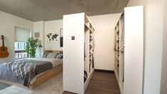 This Smart Furniture Turns Any Room Into A Walk-In Closet - Smart House - Ideas of Smart House - Robotic Closet Ori Living Small Space Storage Diy Furniture Cheap, Smart Furniture, Furniture Design, Furniture Legs, Barbie Furniture, Garden Furniture, Furniture Storage, Antique Furniture, Multifunctional Furniture
