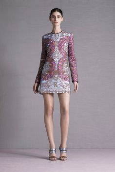 Travel Ready Resort Wear| Serafini Amelia| Mary Katrantzou | Resort 2015 Collection | Style.com