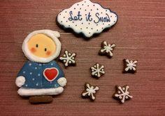 Cookies - Winter - let it snow