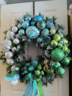 Christmas Wreath from the Coastal Collection