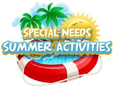 212 Summer Activities for your child with Special Needs - Pinned by – Please Visit for all our pediatric therapy pins Summer Camp Games, Summer Camp Activities, Activities For Adults, Summer School, Summer Fun, Summer Ideas, Summer Time, Special Needs Resources, Special Needs Kids