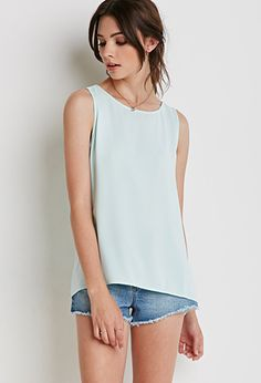 Cutout Vented Back Top | Forever 21 - 2000077829