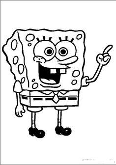 SpongeBob Ausmalbilder. Malvorlagen Zeichnung druckbare nº 61