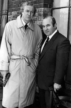 Michael Caine and Bob Hoskins star in the film 'Blue Ice', Gentleman Movie, English Gentleman, Sleepers Movie, The Long Good Friday, Real Cinema, Film Blue, Bob Hope, Hooray For Hollywood, Steve Mcqueen