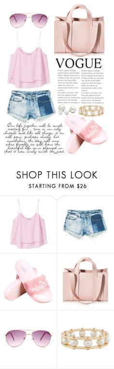 """pearly perfect"" by lialicious on Polyvore featuring MANGO, Sans Souci, Corto Moltedo, Steve Madden, Lele Sadoughi, Allurez and beachtotes"