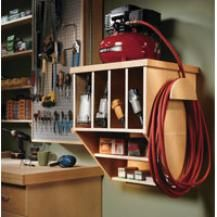 Air Compressor Shelf | Build a wall-mounted unit to keep this handy tool tidy | Reader's Digest Australia