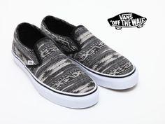 Vans Slip On Van Doren Black Stripes