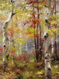 Bill_Inman_Autumn_Sentries_Aspen_16x12_Oil_Painting