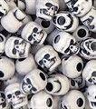 Skull Beads 13mm Antique White 1180SV073A