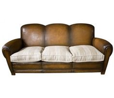 Cheap Sectional Sofas Looking for leather sofa so I can recover seats in feed sack ticking great solution for worn leather cushions
