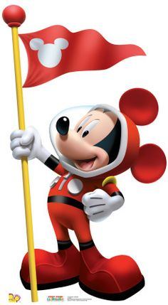 """Mickey Mouse in outer space from Disney Junior's T. show, """"Mickey Mouse Clubhouse. Mickey Mouse E Amigos, Mickey E Minnie Mouse, Mickey Mouse Images, Classic Mickey Mouse, Mickey Mouse And Friends, Mickey Mouse Clubhouse, Disney Mickey, Disney Pixar, Arte Disney"""