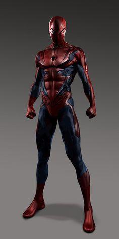 """Artes conceituais mostram trajes alternativos de """"O Espetacular Homem Aranha"""" ~ SuperVault"""
