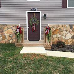 Welcome To Our Home Personalized Metal Wall Art Monogram Door Powder Coat Colors, Color Powder, Wall Hanger, Door Hangers, Monogram Wreath, Script Lettering, Red Candy, Custom Fonts