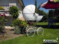 Landau blanc année 70 style crevette, Prams and buggies, Binche | Kapaza.be