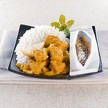 Curry de porc au lait de coco - weight watchers