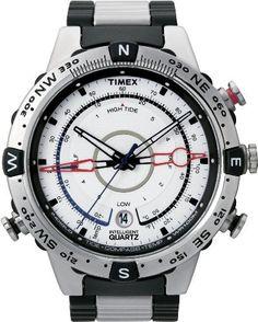 5fe66f72a6ca Timex Men s T2N722 Intelligent Quartz Adventure Series Tide Temp Compass  Bracelet Watch Timex.  195.95. Gents WatchesCool WatchesWatches For ...