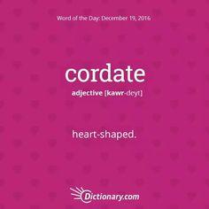 Cordate-