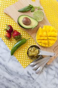 Avocado, Mango,Strawberry, Chilli Pic De Gallo