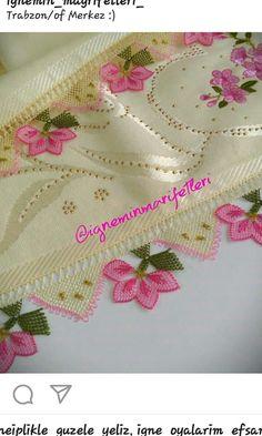 Alinti Needle Lace, Elegant Table, Crochet Lace, Diy And Crafts, How To Make Money, Mandala, Hardanger, Needlepoint, Crochet Trim