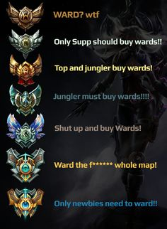 istg i'm b2 and whenever i'm sup, no one appreciates my warding -_-