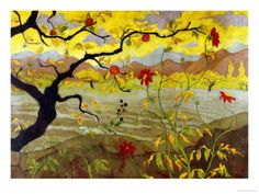 Apple Tree with Red Fruit, c.1902 Paul Ranson