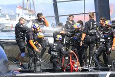 Victoire d'Oracle et de James Spithill !  #AmericasCup #Oracle #Victory | www.scanvoile.com