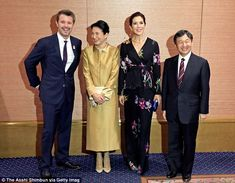 On Thursday, towards the completion of the four-day tour of Japan, Princess Mary and Princ...