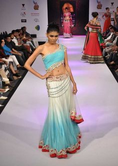 "Designer Khushboo Chhadwa Showcases Her ""Sea of Blue"" Collection"