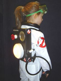 Ghostbusters, halloween costume for B