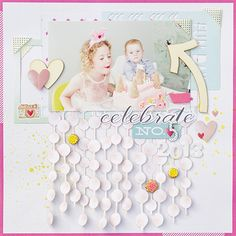 The talented Polka Dot Party Guest Designer is Aleksandra Gadji! Short bio: My name is Aleksandra Gadji, but you can call me Alex. Together with my family, I moved to Sweden when. Birthday Scrapbook Layouts, Scrapbook Blog, Scrapbook Sketches, Baby Scrapbook, Scrapbook Paper Crafts, Scrapbooking Layouts, Scrapbook Cards, Polka Dot Party, Studio Calico