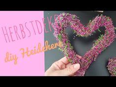 Herbstdeko / Heideherz/ Herz aus Heide /DIY - YouTube All Souls Day, Make It Yourself, Art Floral, Winter, Youtube, Blog, Jewelry, Garden, Florals