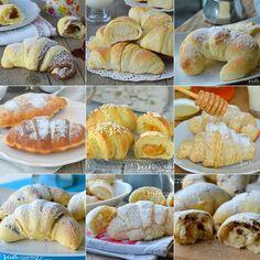 CORNETTI FATTI IN CASA 15 ricette golose dolci lievitati